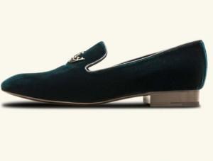 slippers-donna-churchs-in-velluto-verde