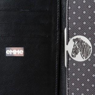 emwa034_emme_-_silk_and_leather_grey_billfold_wallet_3_-_finaest.com