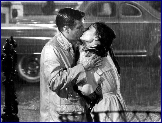 BREAKFAST AT TIFFANYS, Audrey Hepburn, George Peppard, 1961